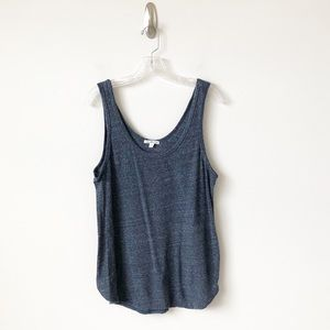 James Perse tank top blue -Size 4 or XL